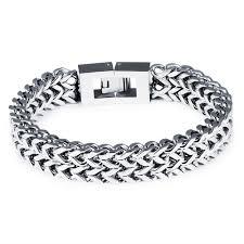 black stainless steel chain bracelet images Steel chain bracelet wholesale jc fashion jewelry JPG