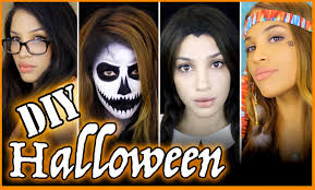 easy diy halloween costumes youtube
