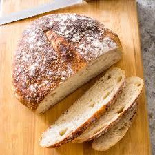 almost no knead sourdough bread america u0027s test kitchen