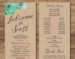 Nautical Wedding Programs Nautical Wedding Program Order Of Ceremony Ceremony Program