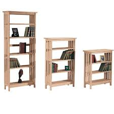 Mission Bookshelves by Wood Bookcases For Sale