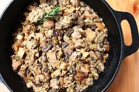 story of thanksgiving mum u0027s mushroom turkey dressing recipe happy thanksgiving