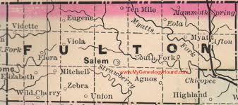 me a map of arkansas fulton county arkansas 1889 map