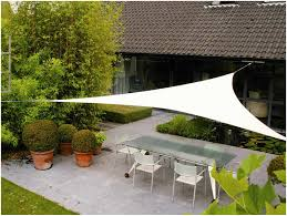 backyards trendy shade sails over seating area 57 sail canopy