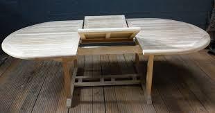 table ovale avec rallonge tables a rallonges la maison du teck meuble et déco en teck