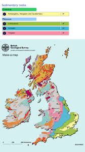 Map England by Make A Map A Geological Map Of Britain And Ireland British