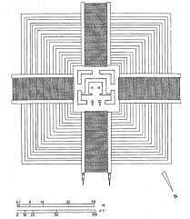 3 2 4 mayan and inca temples quadralectic architecture 111 a plan of el castillo or the pyramid of kukulcan in the northern part of the chichen itza temple complex mexico the structure was built during the