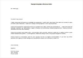 brilliant ideas of a good job reference letter with letter
