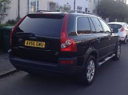 volvo xc90 2 4 d5 2006 7 seater forest green metallic in