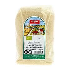 hygiena cuisine hygiena sucre de canne clair 1kg bio prix unitaire livraison