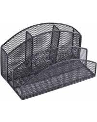Black Wire Mesh Desk Accessories Shopping Sales On Rebrilliant Wire Mesh Desk Organizer