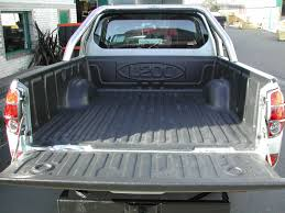abs plastic load bed liners 4x4 accessories u0026 tyres mitsubishi l200 mk5 05 09 extra cab mega cab pickup bed tray liner over rail