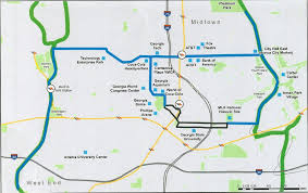 America Map Atlanta by Atlanta Beltline Tour Reveals The Opportunities For Transit In Our