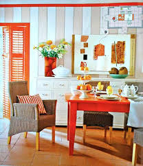 how to use orange colors creatively and add interest to modern