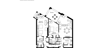 residential floor plan ocean front residential suite in the cayman islands the ritz