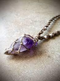 hemp necklace pendants images 31 best crystal macrame wrapping images pendants jpg