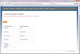 online class software customer paradigm web based appointment scheduling php software