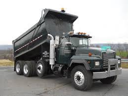 mack dump truck mack tri axle steel dump truck for sale 11528