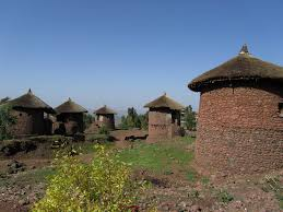 Two Story Houses Traditional Houses Ethiopia