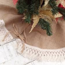burlap tree skirt 10 best burlap christmas tree skirts for 2017 rustic and