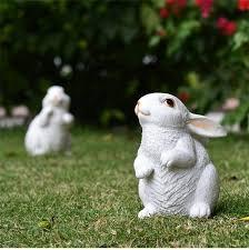 aliexpress buy white handmade rabbit figurines