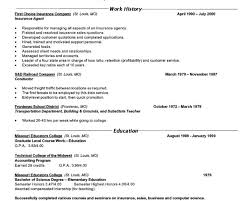 examples of a good objective for resume general with no work
