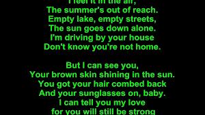don henley u2013 the boys of summer lyrics video dailymotion
