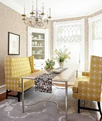 Dining Room Settee Make Choices Consider Two Settees Reminiscent Of A