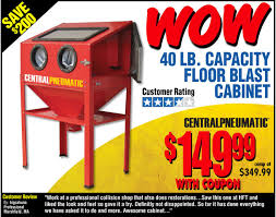 harbor freight sand blast cabinet upgrades blast cabinet really a deal non tractor related discussion