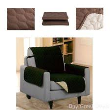 Quilted Recliner Covers Dormire Reversible Quilted Furniture Protector With Elastic Strap