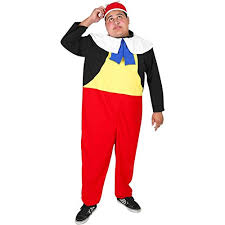 Tweedle Dee Tweedle Dum Halloween Costumes Tweedle Dum Halloween Costume Size Standard 44 Alice