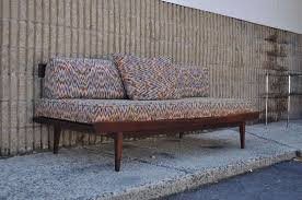 Mid Century Daybed On Hold Vintage Mid Century Modern Day Bed Sofa By At1stsight