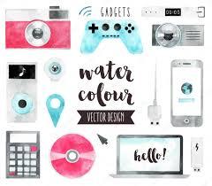 Smart Gadgets Smart Media Devices And Personal Gadgets U2014 Stock Vector Bloomua