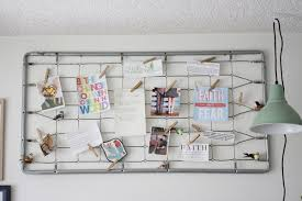 bed spring board organize and inspire trashy crafter recycled