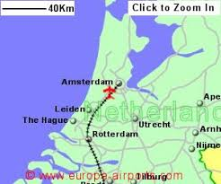 netherlands location in europe map amsterdam schiphol airport netherlands ams guide flights