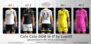 colo colo archives pes patch