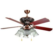 Low Ceiling Fans With Lights by 5 Blade And 6 Light Low Profile Ceiling Fans With Lights