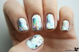 mirrored nail polish vanity decoration