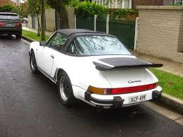 porsche targa 1995 aussie old parked cars 1985 porsche 911 3 2 carrera targa