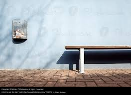 wait bench wall building wait bench a royalty free stock photo from photocase