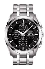 stainless steel bracelet tissot images Tissot couturier automatic chronograph valjoux t0356141105100 png