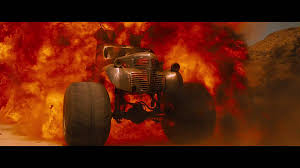 bigfoot monster truck movie mad max fury road monster truck explosion 2 monster trucks