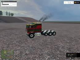 Kenworth K100 Interior Kenworth K100 Cabover Truck V1 Farming Simulator 2017 2015