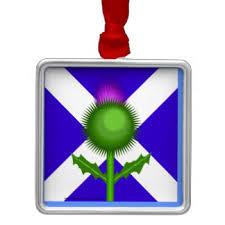 scottish thistle ornaments keepsake ornaments zazzle