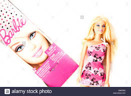 barbie doll box stock photo royalty free image