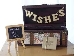 wedding card wish box card box advice box travel theme