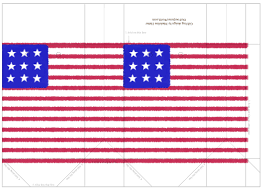 Miniature Flags American Flag Template Targer Golden Dragon Co