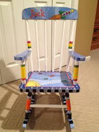 White Childs Rocking Chair Stylish Personalized Rocking Chair With Childrens Rocking Chair