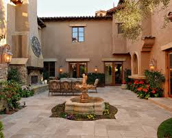 great architecture of center garden patio courtyard design home