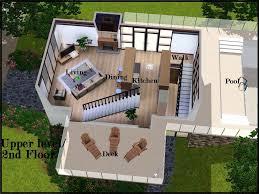 mod the sims dream decks modern villa
